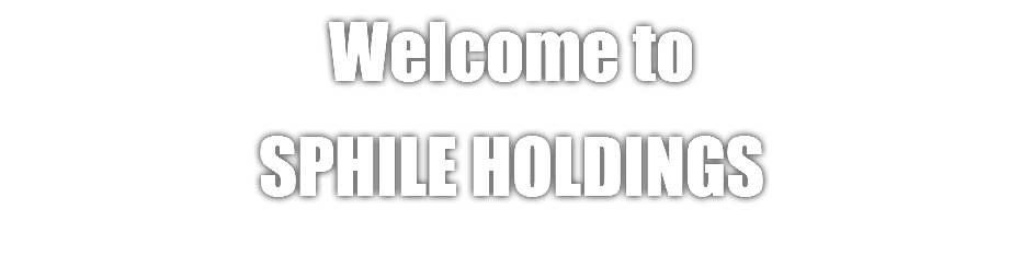 Welcome to Sphile Holdings